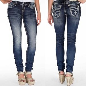 Buckle Rock Revival Johanna Skinny Stretch Jeans